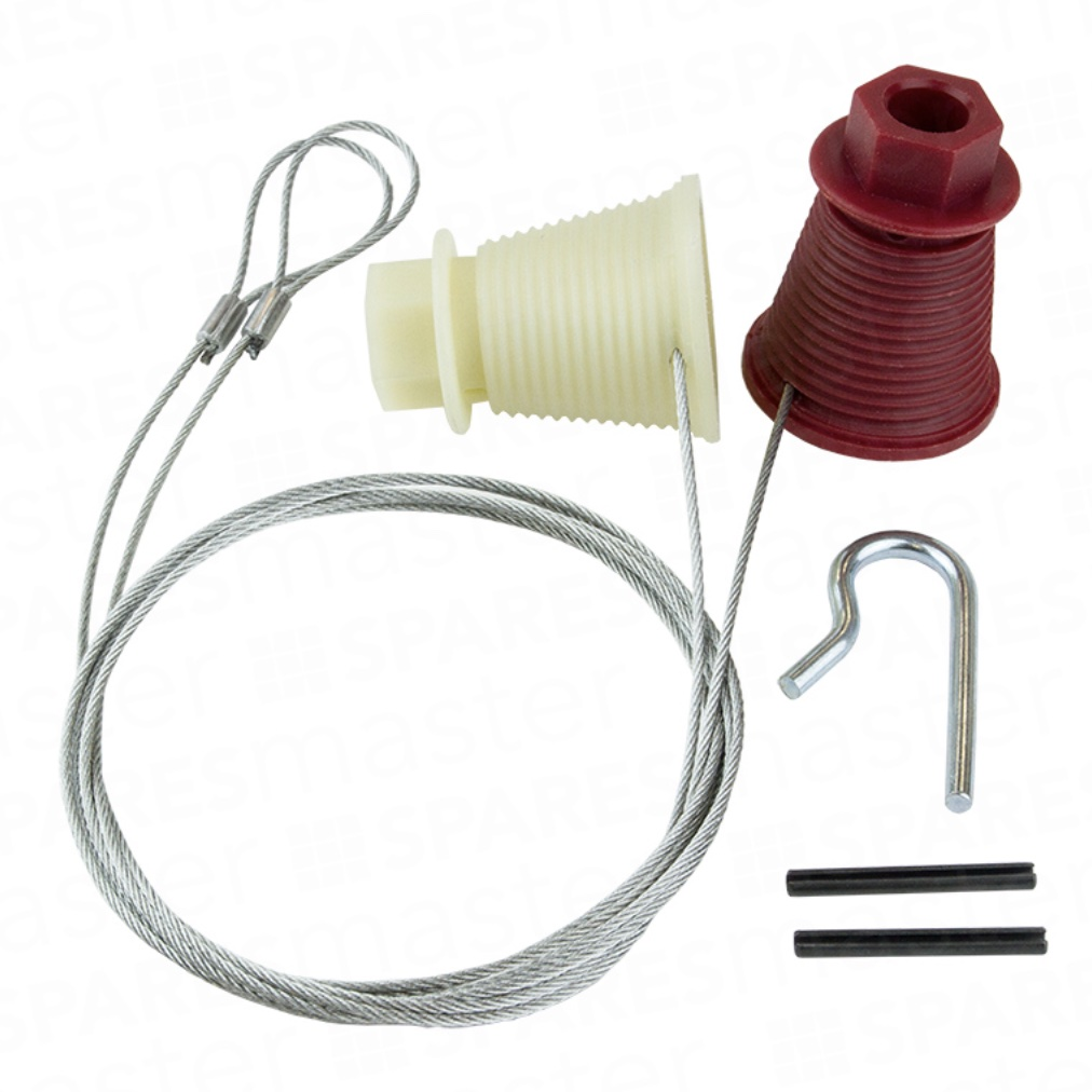 Cardale CD45 Garage Door Cables (Hexagonal) CAR10