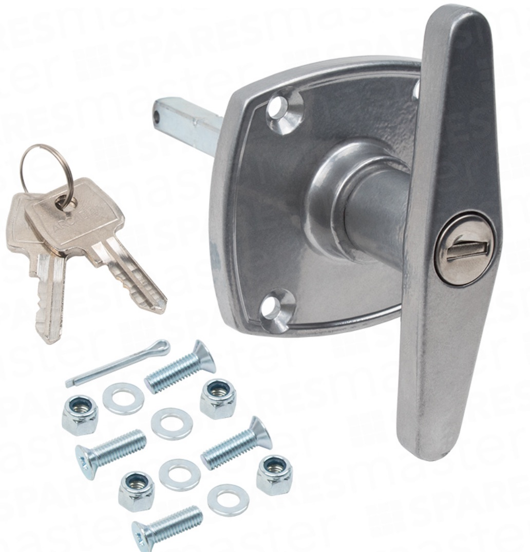 Birtley Garage Door Lock 'Easyfix' Handle