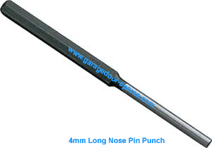 Garage Door Tools 4mm Pin Punch