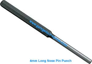 Garage Door Tools 4mm Pin Punch