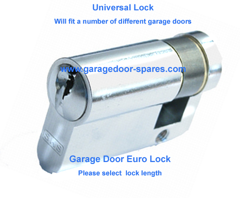 Apex 40mm Euro Garage Door Lock Barrel