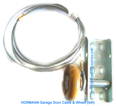 HORMANN Garage Door Cable and Wheel Assembly (Left)