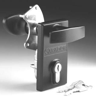 Garador Replacement Lock Handle Int And Ext Garage