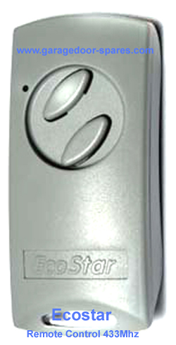 Hormann Ecostar Garage Door Remote Control 433Mhz