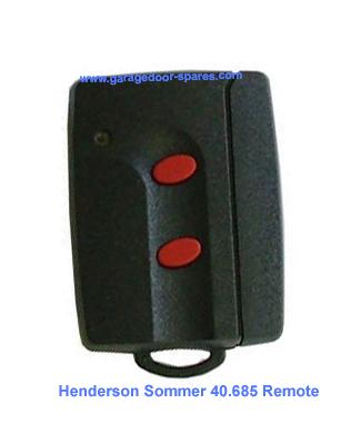 Henderson Garage Door Sommer Remote Control 2 Button 40