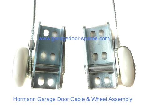 Hormann Garage Door Cable and Wheel Assembly (1 x Pair)