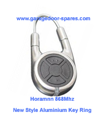 Hormann 868Mhz Chrome or Aluminium 2 Button Remote