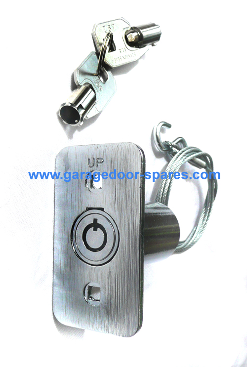 Garage Door Emergency Release Lock & Cable