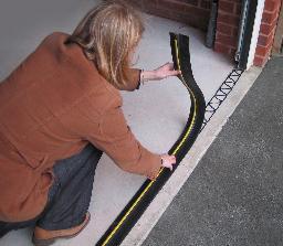 Garage Door Rubber Floor Seal 8 3 2 6m And Adhesive