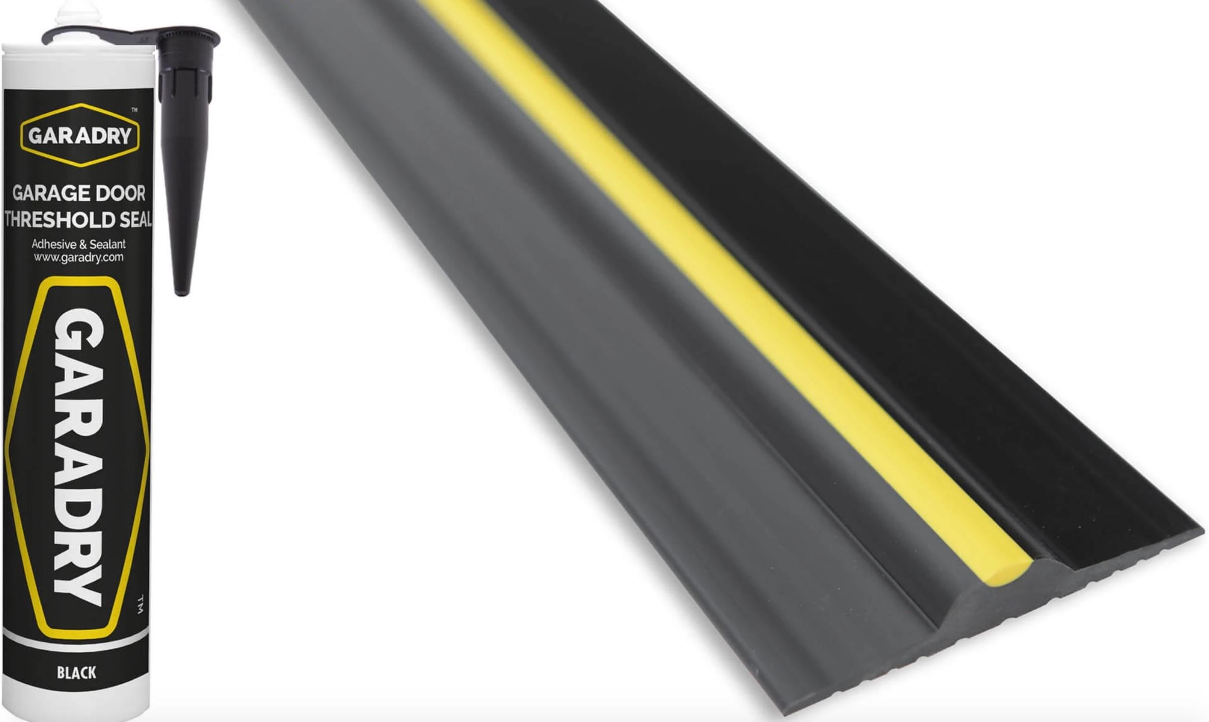 Garage Door Rubber Seal >> Garage Door Rubber Floor Seal 14'3 4.4m and Adhesive | Garage Door Spares, Garage Door Parts to ...