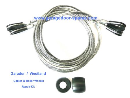 Westland Cables Roller Wheels Repair Kit