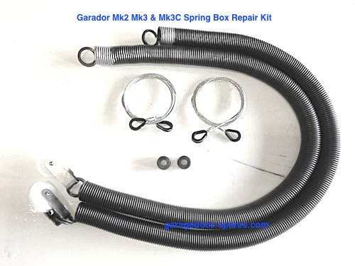 2 x Garador Catnic Mk3c Springs Cables and Roller Wheels Repair Kit