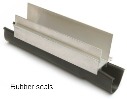 Filuma Garage Door Floor Seal 14' wide doors