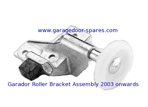 Garador Roller Bracket and Wheel Assembly 2003 onwards