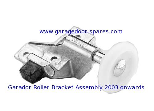 Garador Roller Bracket and Wheel Assembly 2003 onwards