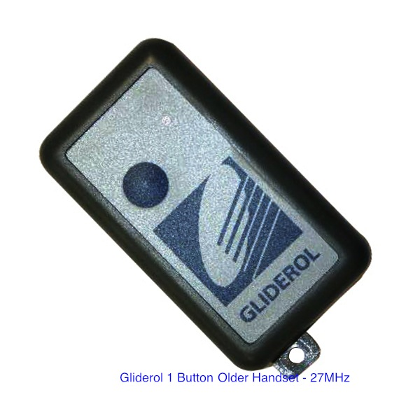 Gliderol 1 Button Remote Control 27MHz