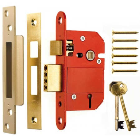 Era Fortress Insurance Approved 5 Lever Mortice Sash Lock