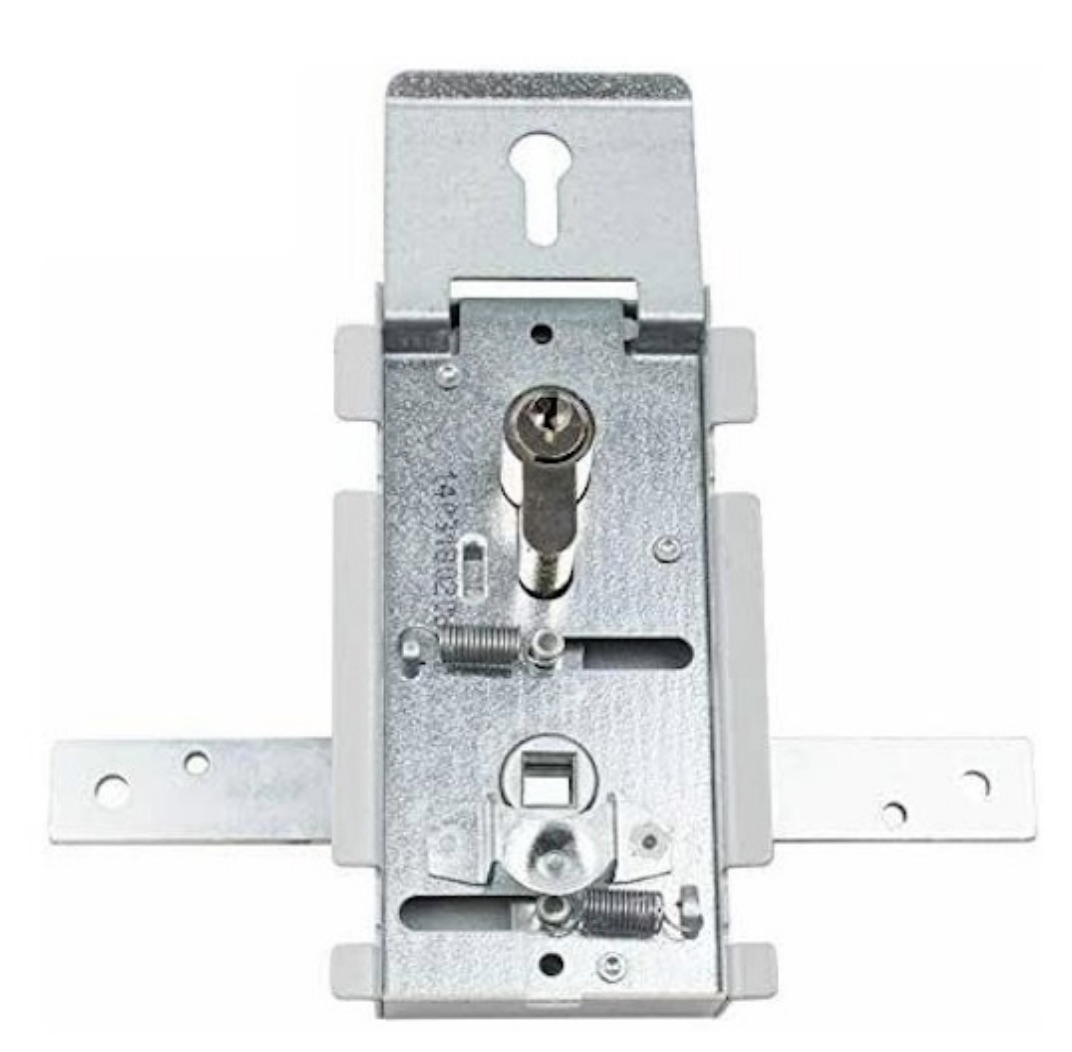 Hormann Garage Door Rear Handle Lock Mechanism Body & Cylinder