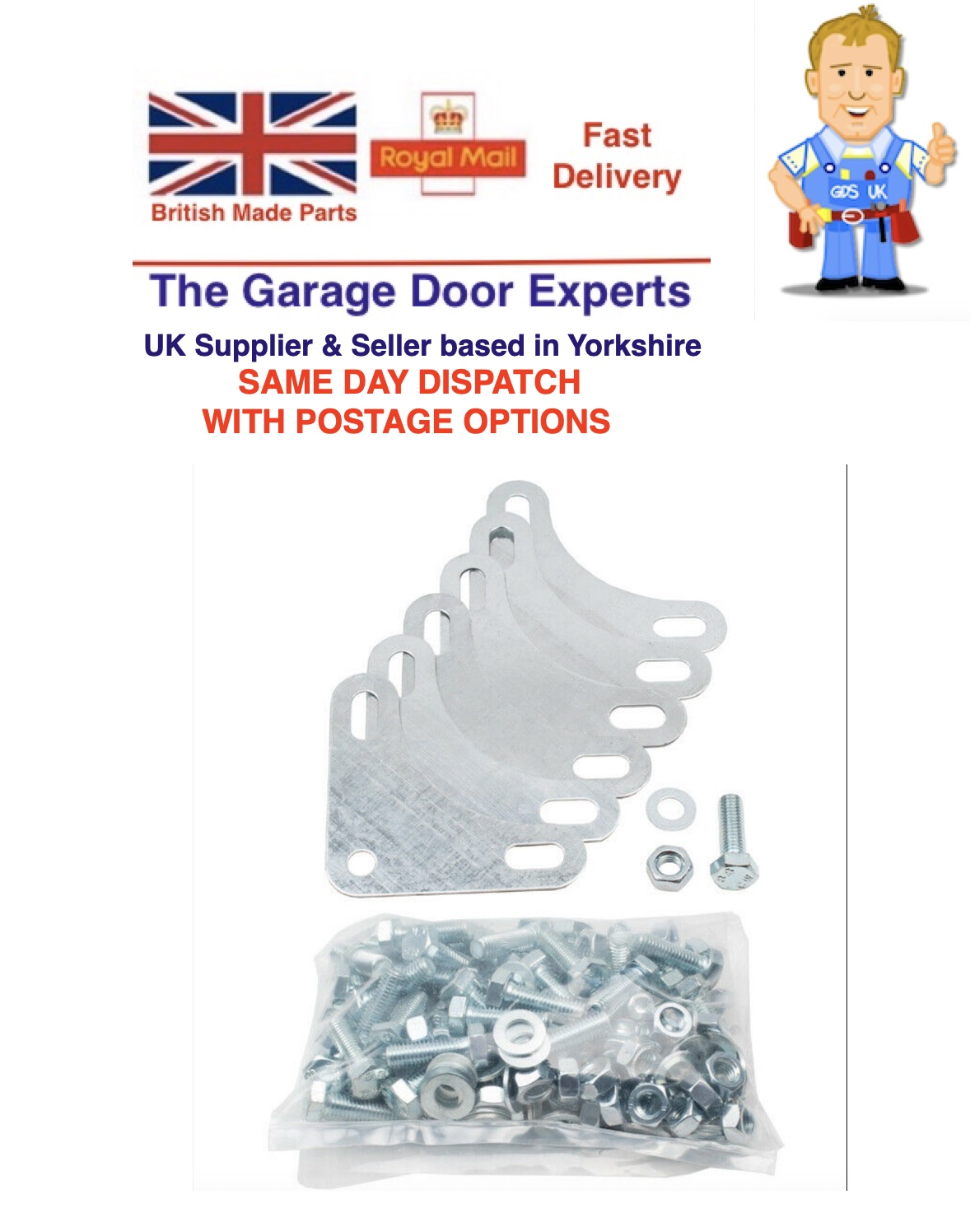 Dexion nuts & bolts for angle bracket