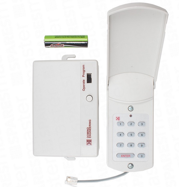 Domino Keyless Entry System for Garage Door Lift Operators