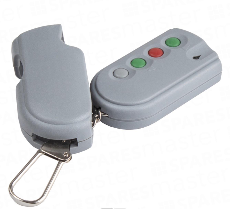 SeceuroGlide Single Channel 433MHz SeceuroSmart Remote Control Handset