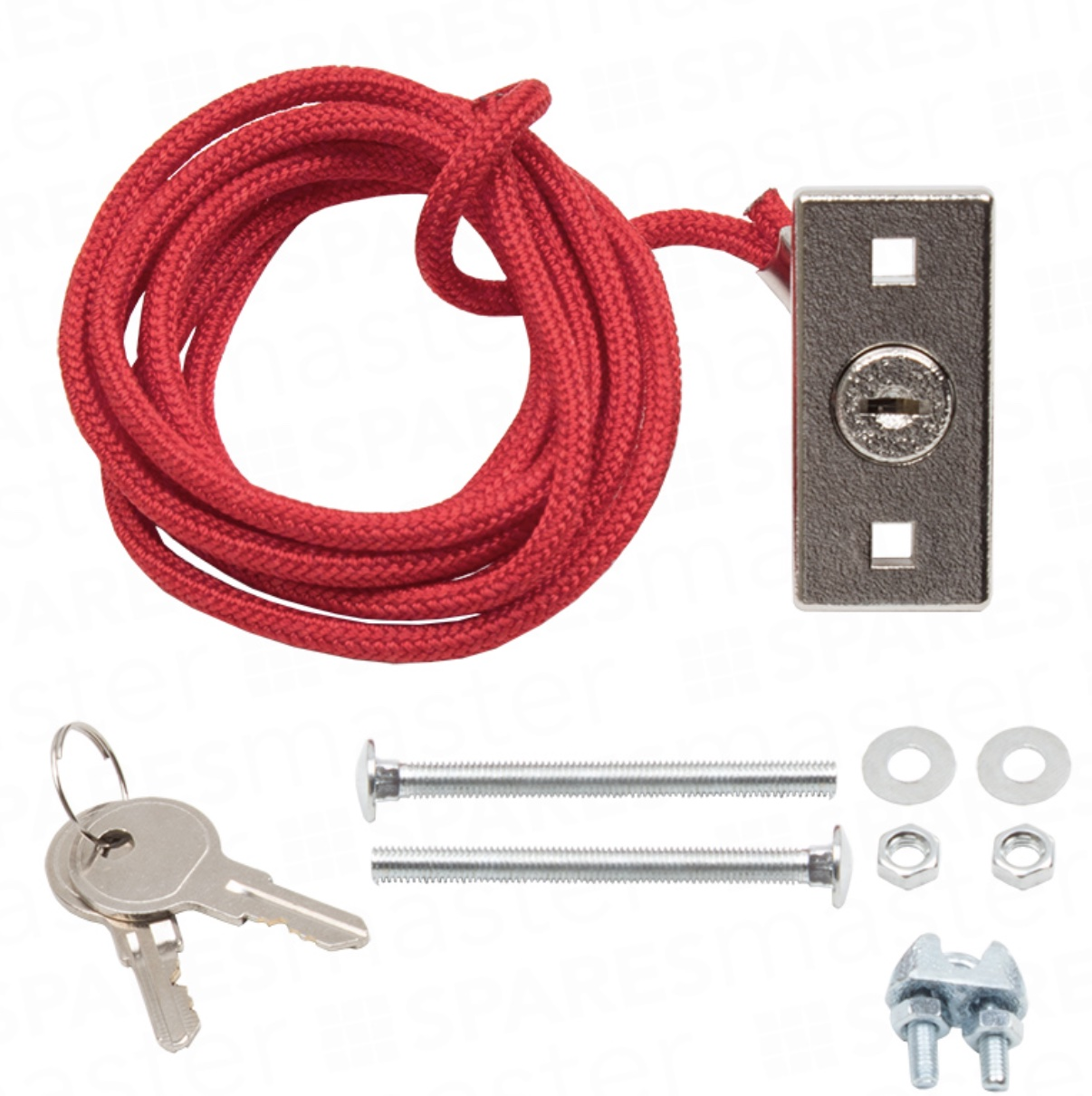 Chamberlain External Quick Release Lock Pull Cable