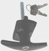 Birtley Garage Door Lock Handle (CAR 30)