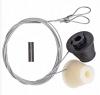 Apex Ascot Garage Door Grey Cones and Cables