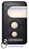 Liftmaster Garage Door Remote Control Fob 433Mhz