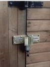 Garage Shed Security Padlock Hasp