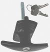 Wickes T Bar Locking Handle