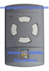 Hormann Mini 40.865Mhz Remote Control Grey Buttons