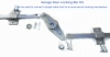 Garage Door Lock Bar Kit for upto 10 foot wide