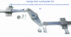 Garage Door Locking Bar Kit