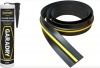 Garage Door Rubber Floor Seal 14'3 and Adhesive