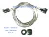 2 x Garador Catnic Mk3c Springs Cables and Roller Wheels Repair Kit