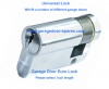 Garador Garage Door Euro Cylinder Lock