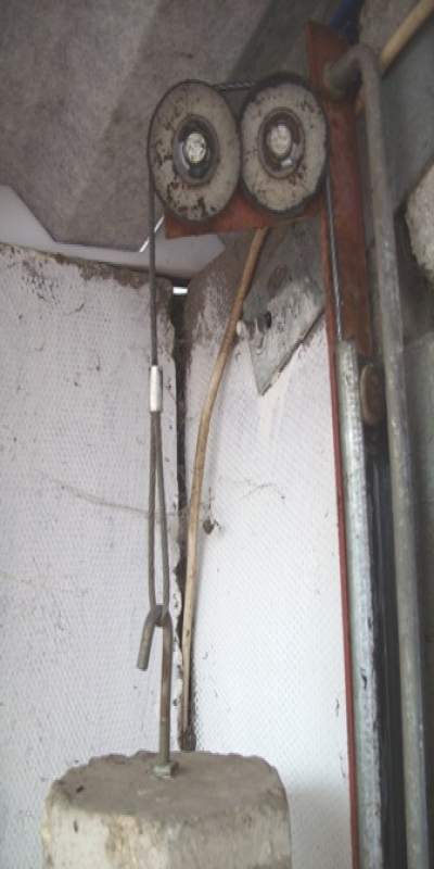 Garage Door Cables Made To Measure Old Obsolete Garage