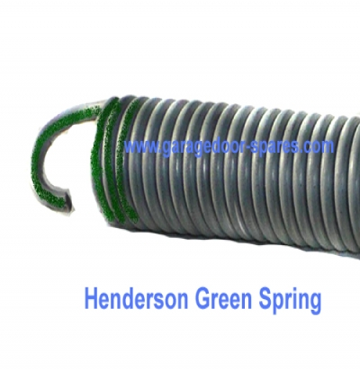Henderson Dolphin Green Retractable Garage Door Spring