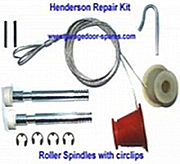Henderson Garage Door Spares Kit