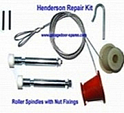 Henderson Kit Spindles Garage Door Spares Kit